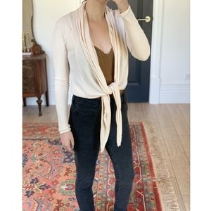 Urban Outfitters Out From Under Tie Front Cardigan